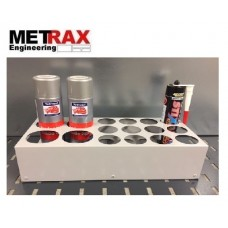 4 Aerosol Can & 12 Sealant Tube Holder