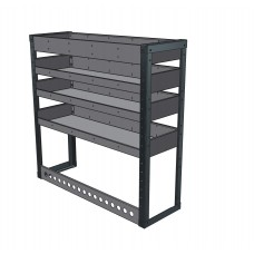 OFFER Van Shelving Unit 1000h x 1000w  x 335d- 4 Shelf - LIMITED STOCK