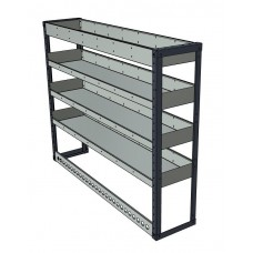 Van Shelving Unit 1200h x 1500w - 4 Shelf