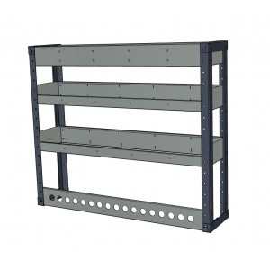 Van Shelving Unit 850h x 1000w - 3 Shelf