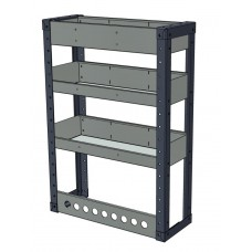 Van Shelving Unit 850h x 600w - 3 Shelf