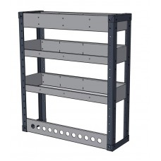 Van Shelving Unit 850h x 750w - 3 Shelf